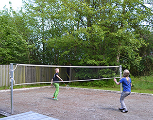Fjord-Centret badminton bane